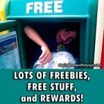 Freebies and Rewards Programs
